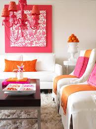 trendy color combo pink u0026 orange