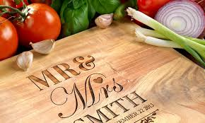 personalised cutting boards photobook shop merchandising uk groupon