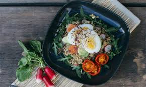 quinoa cuisine quinoa avocado and egg salad recipe