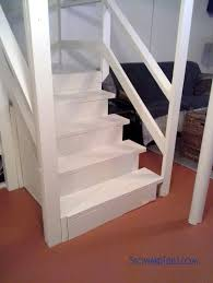 how to paint stairs and not get trapped up or downstairs