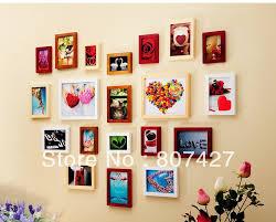 soild wood frame wall wall frame 20 pieces set house home wall