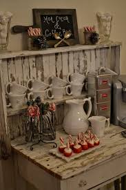 old world kitchen appliances unique coffee station small rustic counter with