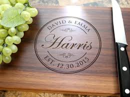 personalized engraved cutting board best 25 engraved cutting board ideas on custom