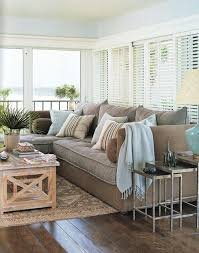 i love this coastal chic color palette with touches of aqua blue