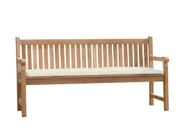comfortable cushion for a bench 180 cm 169x50x5cm beige
