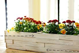 tabletop wood shim planter box infarrantly creative