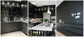 black and kitchen ideas modern black kitchen design ideas home interior design kitchen