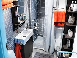 bathroom ideas space saving bathroom sink over black stained wood