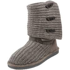 womens knit boots amazon com bearpaw s knit boot mid calf