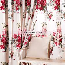 Floral Curtains Flower Curtains Decorating With Printing Floral