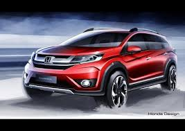 honda cars to be launched in india honda br v sketches released india launch in 2016