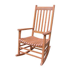 Patio Rocking Chairs Wood Shop International Concepts Acacia Patio Rocking Chair At