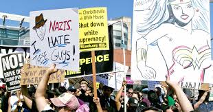 spirit halloween charlottesville va best signs protesting charlottesville violence trump
