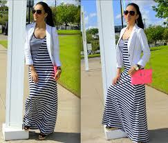 killer striped black and white maxi dresses