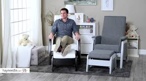 Rocking Chair Dutailier Dutailier California Ottoman Product Review Video Youtube