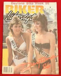 biker lifestyle magazine january 1986 near mint condition tattoo
