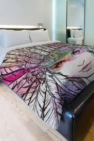 chambre indienne d馗oration housse de couette indienne merveilleux parures de lit originales