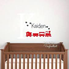 Personalized Wall Decals For Nursery Wall Decals With Names Personalized Flowers Name Wall Decal