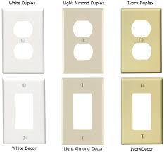 light almond switch plate covers electrical outlet cover colors glamorous weekend project replace