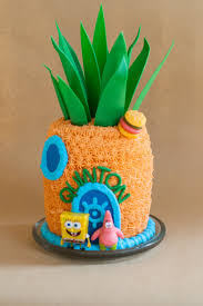 sponge bob cake u2013 all because two people fell in love