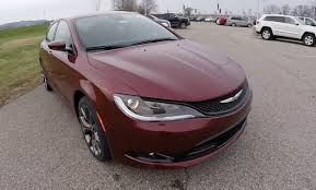 2015 Chrysler 200s Interior 2015 Chrysler 200s Red 9 Speed Transmission New Chrysler