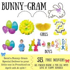 send a gram bunny gram kinderdance