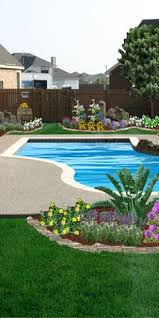 some basic tips for landscaping around an inground swimming pool