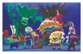 spongebob squarepants halloween stop motion animation special the