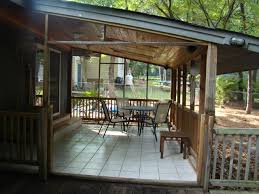 Screen Porch Roof Compelling Shed Roof Porch Screened Porch Together With Porch