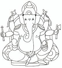 ganesha sketches clip art library