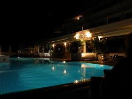 Pool At Night Pool At Night Picture Of Hotel King Minos Tolon Tripadvisor