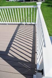 trademark deck railing pvc railing deck railing system azek
