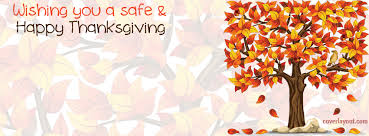 wishing you a safe and happy thanksgiving autumn cover