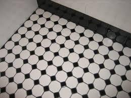 black and white tile floors classy and elegant black white floors