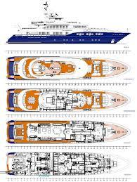 yacht floor plans sirocco layout heesen yachts motor yacht superyachts com