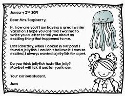 letter writing formats for kids u2013 letter simple example
