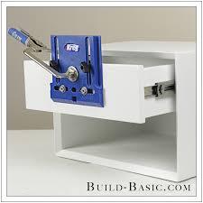 kitchen cabinet door hardware jig how to use a kreg cabinet hardware jig build basic