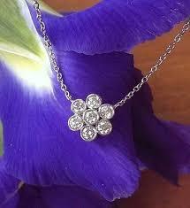 flower tiffany necklace images Vintage tiffany co diamond necklace catherine trenton jpeg