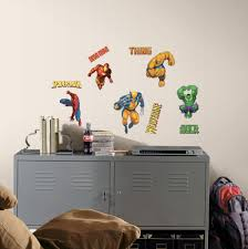 roommates rmk1154scs marvel heroes peel stick wall decals wall