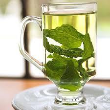 Teh Mint cara membuat teh mint segiempat