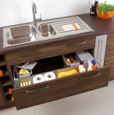 Best Kitchen Cabinet Features Images On Pinterest Kitchen - Kitchen sink drawer