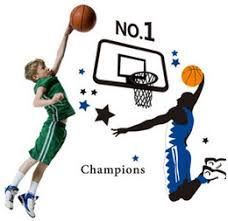Sports Decals For Kids Rooms by Basketball Wall Decals Kids Rooms Online Basketball Wall Decals