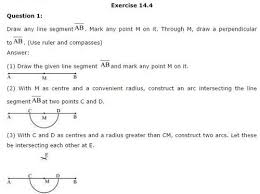 ncert solutions for class 6 maths practical geometry exercise 14 4