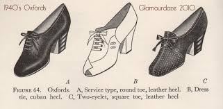 1940 u0027s shoes a vintage shopping guide glamourdaze