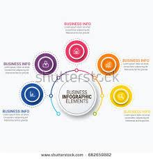 vector infographic template 3d paper label imagem vetorial de