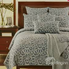 Leopard Bed Set Animal Print Bedding Uk In Phantasy Leopard Animal Print Satin