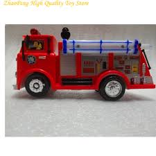 fireman sam toy truck fire truck car music led boy toy