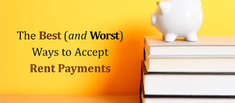 the best and worst ways to accept rent payments lawdepot blog