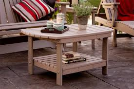 Outdoor Folding Side Table Amish Outdoor Accent Tables