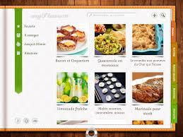 application recettes de cuisine applis de cuisine les agrégateurs de recettes pour tablettes